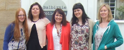 Members of the Balbirnie Collective, ©Bookseeker Agency