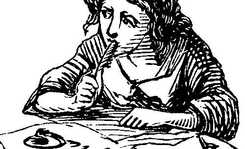 author clip art