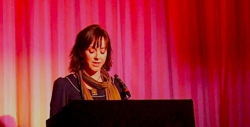 Story reader Helen Logan.