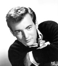 Bobby Darin, one of the artists who recorded cover versions of Ray Charles's 'What'd I Say'.