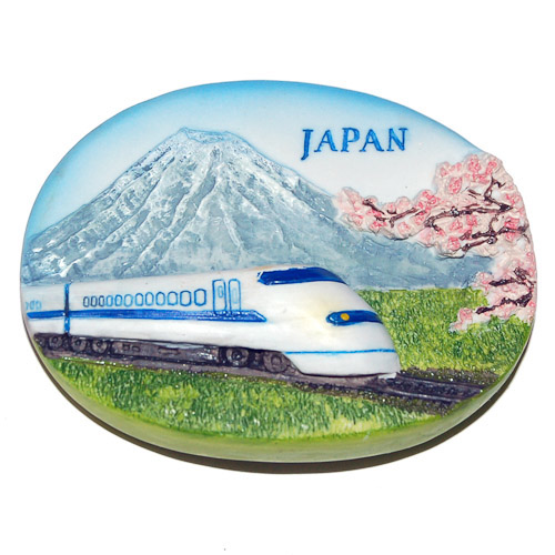 premium-resin-3d-magnet-japan-shinkansen-or-the-bullet-train