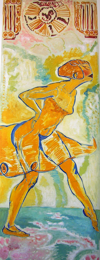 Mèrodack-Jeanneau Danseuse_jaune 3